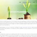 Notarishuys Veldhoven website door Fenoomenaal